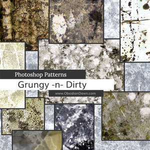 Grungy n Dirty Photoshop Patterns