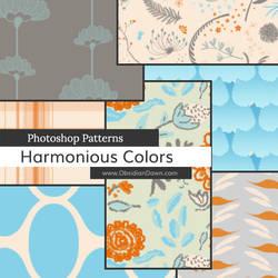 Harmonious Colors Photoshop Patterns
