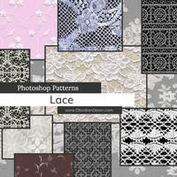 Lace Photoshop Patterns