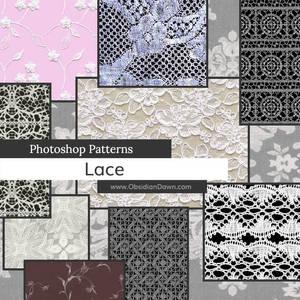 Lace Photoshop Patterns