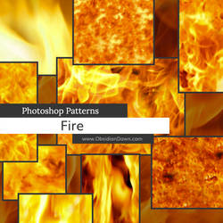 Fire Photoshop Patterns