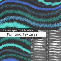 Painting Textures Photoshop Brushes