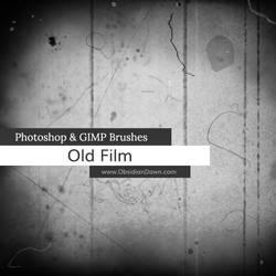 Old Film Photoshop and GIMP Brushes