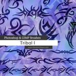Tribal Photoshop and GIMP Brushes