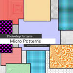 Micro Patterns Photoshop Patterns by redheadstock