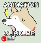 Shiba inu facebook sticker fan art :D