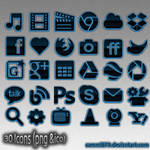 BlueArise icons by Sammi879