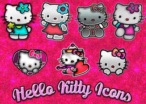 Hello Kitty Icons by Sammi879 by sammi879