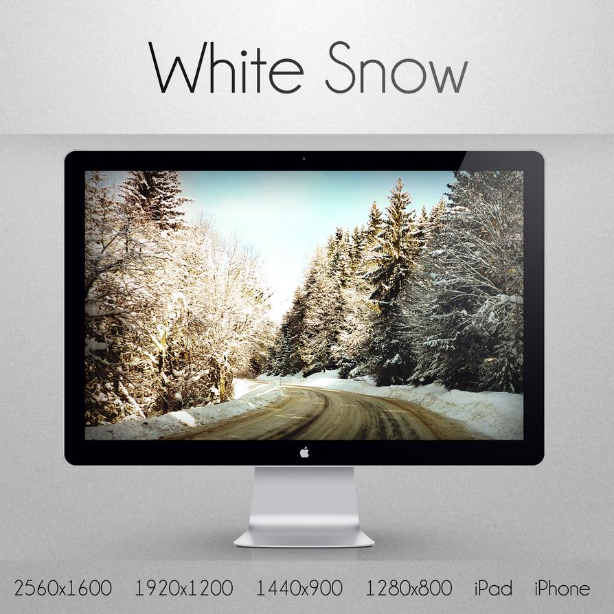 White Snow by vir06
