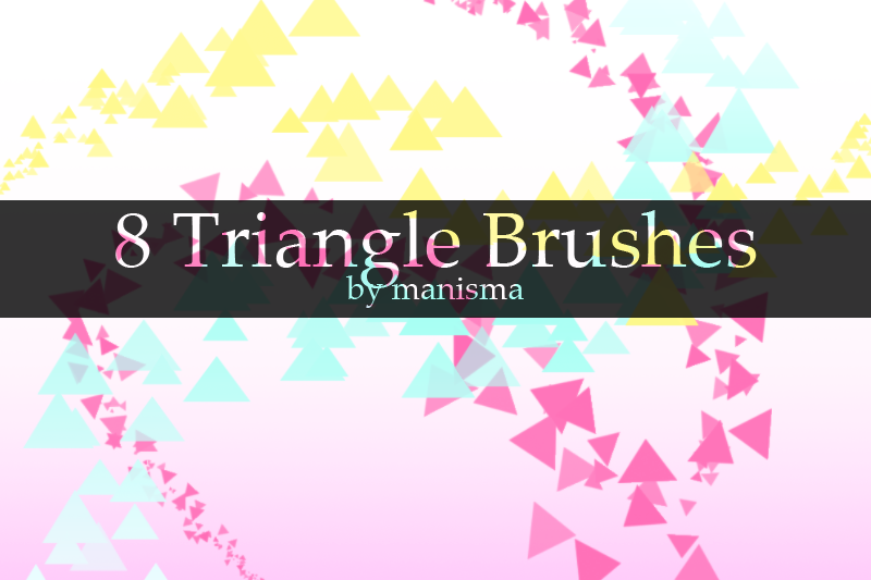 Triangle Brushes by Manisma on DeviantArt