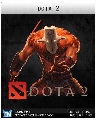 Dota 2 (Alternative) - Icon by Enzerosoft on DeviantArt
