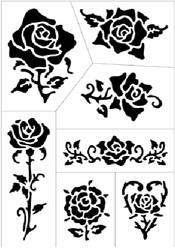 Black Roses brushes pack