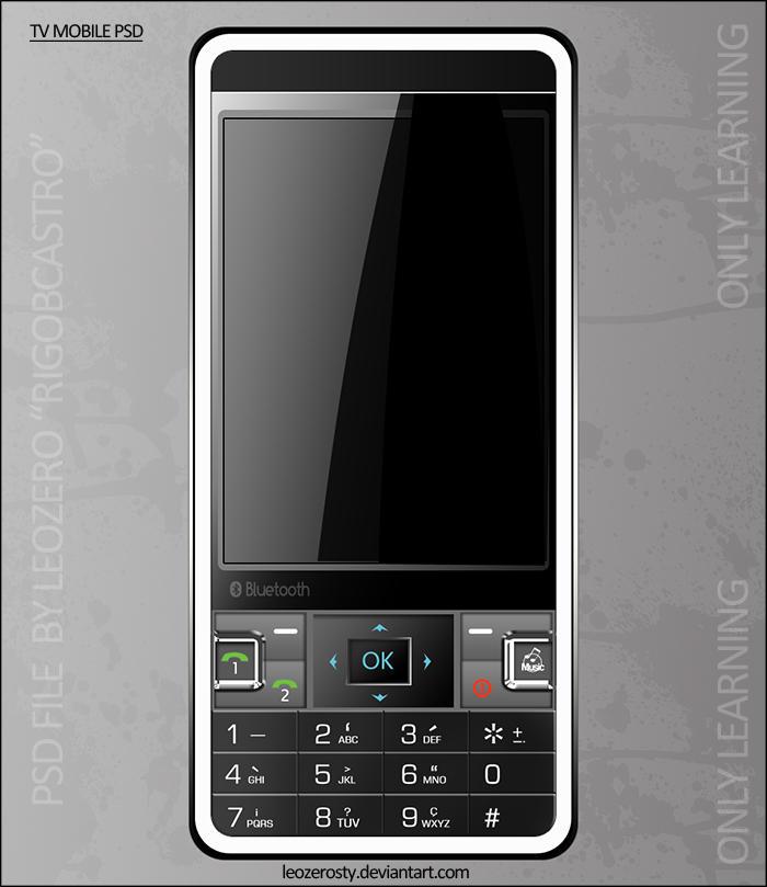 Tv Mobile PSD by leozerosty
