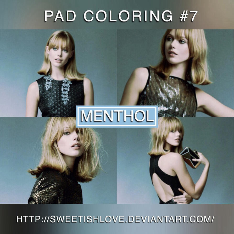 PAD Coloring #7 - Menthol by Sweetishlove