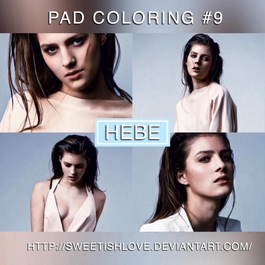 PAD Coloring #9 - Hebe by Sweetishlove