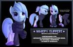 Whispy Slippers OC for Source Filmmaker
