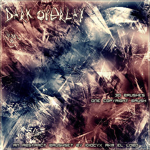Dark Overlay Brushes by IdiocyX