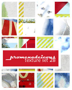 Promenade Icon Texture Set 28 by luthienblack