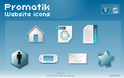 promatik wesite icons