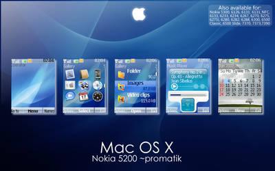 Mac OS X Theme for Nokia 5200