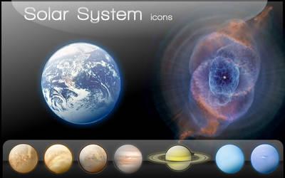 Sistema Solar Icons