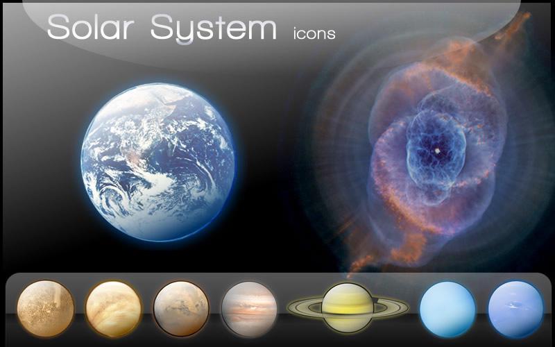 Sistema Solar Icons by Promatik