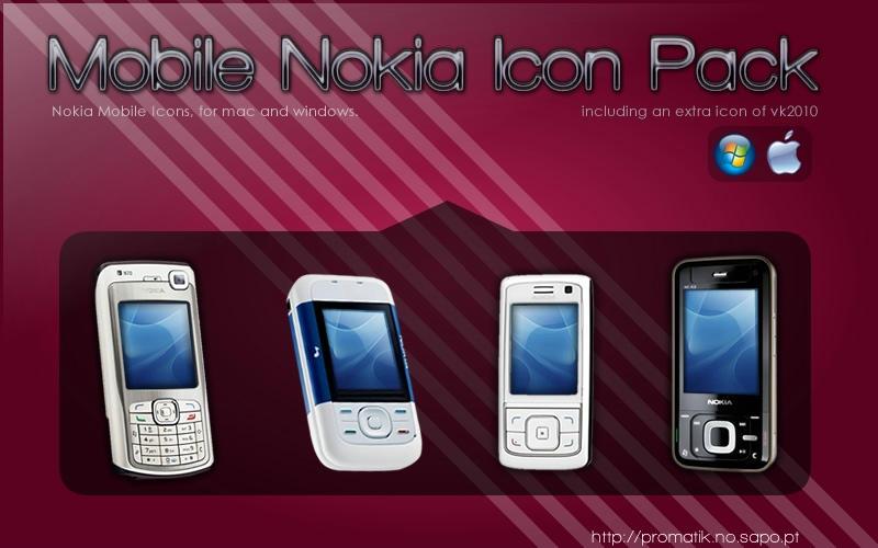 Nokia Mobile Icon Pack