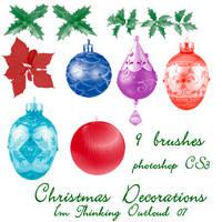 Christmas Decorations by imthinkingoutloud