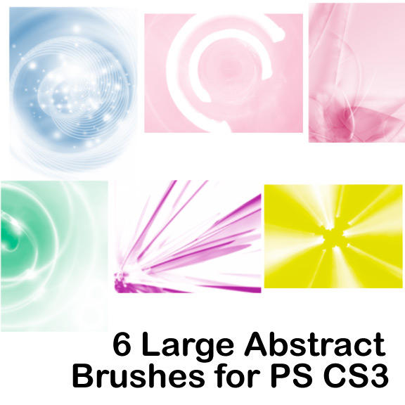 High Resolution Cool Abstract Brushes
