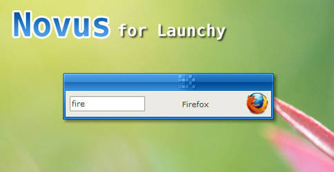 Novus for Launchy