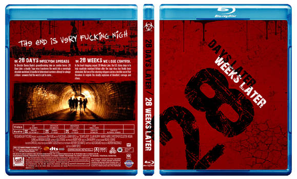 28 Days+28 Weeks Later Blu-ray