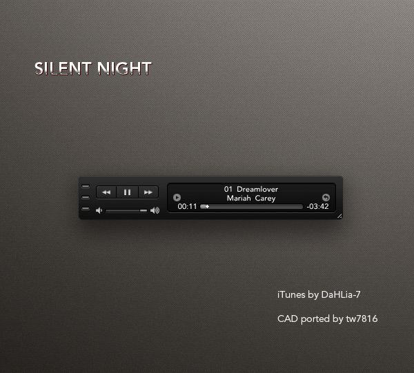 Silent Night iTunes for CAD by tw7816