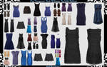 PNG dresses PACK