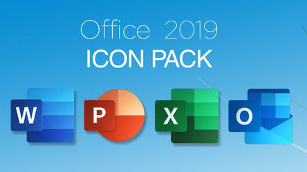 Office 2019 icons pack
