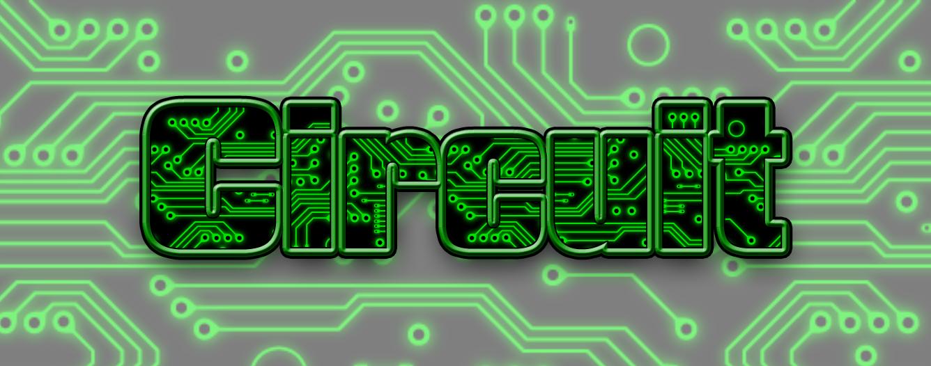 Circuit Board Photoshop Style
