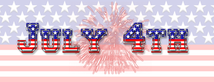 4th July Photoshop Style