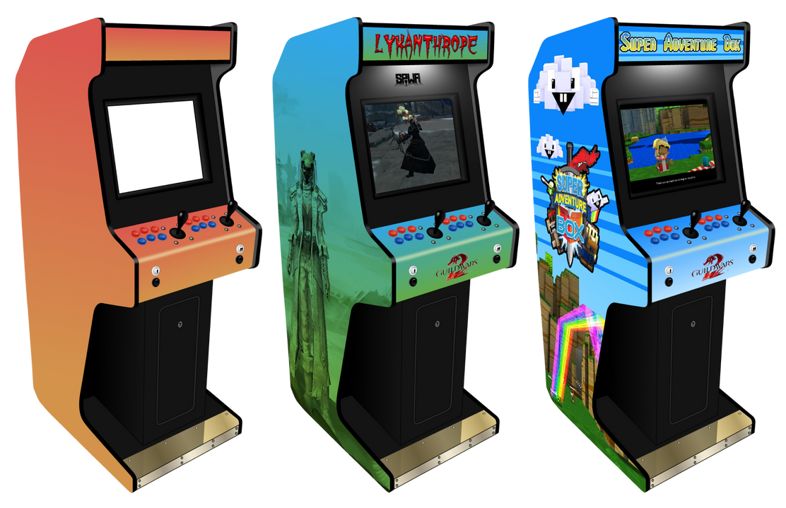 Customisable Arcade Machine for Photoshop by Sinner-PWA on DeviantArt