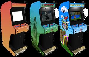 Customisable Arcade Machine for Photoshop