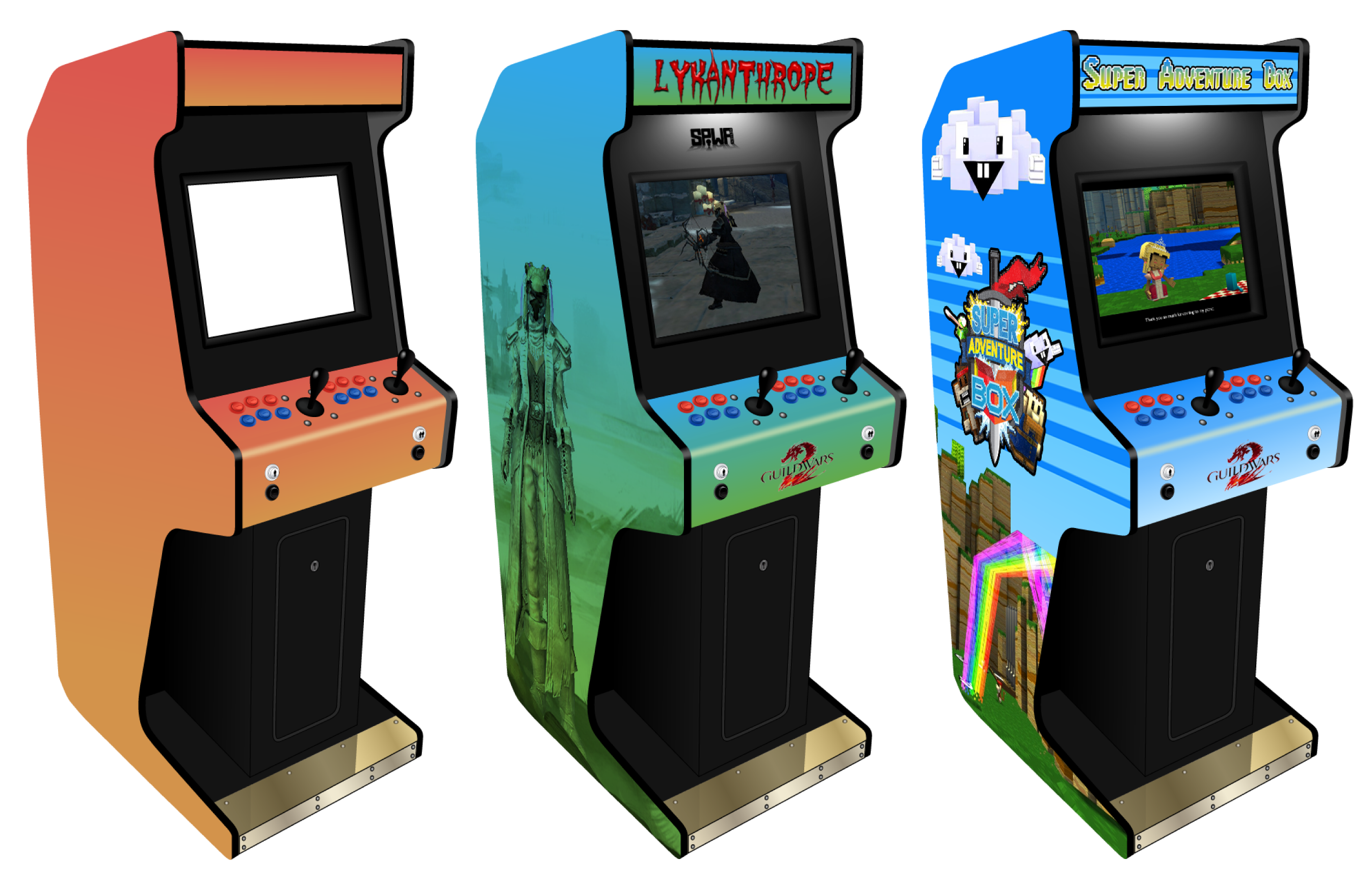 Customisable Arcade Machine For Photoshop By Sinner Pwa On  sc 1 st  Nagpurentrepreneurs : arcade cabinet template - Cheerinfomania.Com