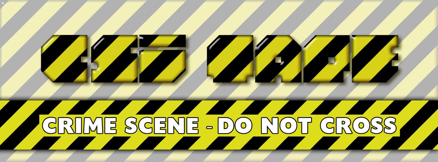 Crime Scene Tape Photoshop Style by Sinner-PWA