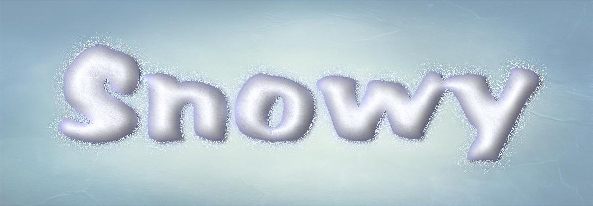 Photoshop Snowy Layer Style by Sinner-PWA