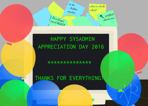 SysAdmin Day 2016
