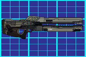Assymetric Recoiless Rifle 920 by Haloidfan