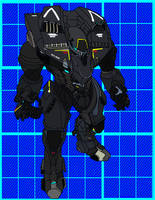 MA3 Ares Assault Mech by Haloidfan