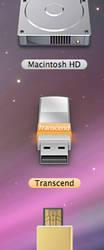 Transcend flash drive 2.0 by Uratsakidogi