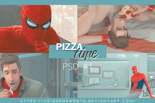 PSD COLORING #1 | PIZZA TIME