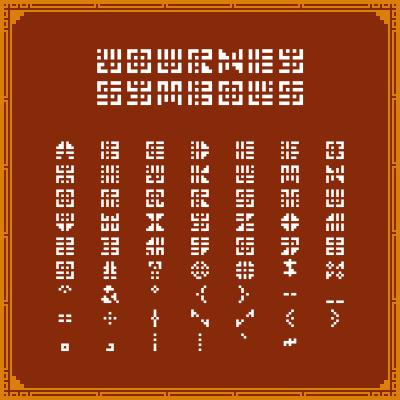 Journey Symbols Font by KBABZ