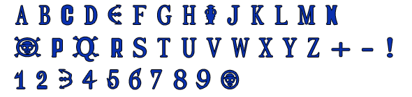 One Piece font by KakashiPhantomhive