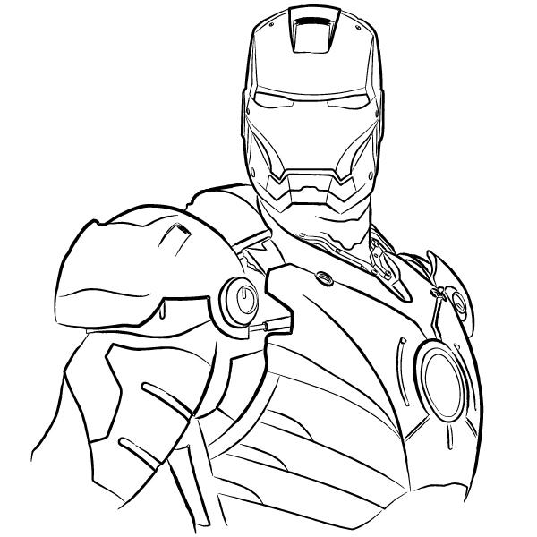 Ironman Logo Drawings Ironman by Davidbl