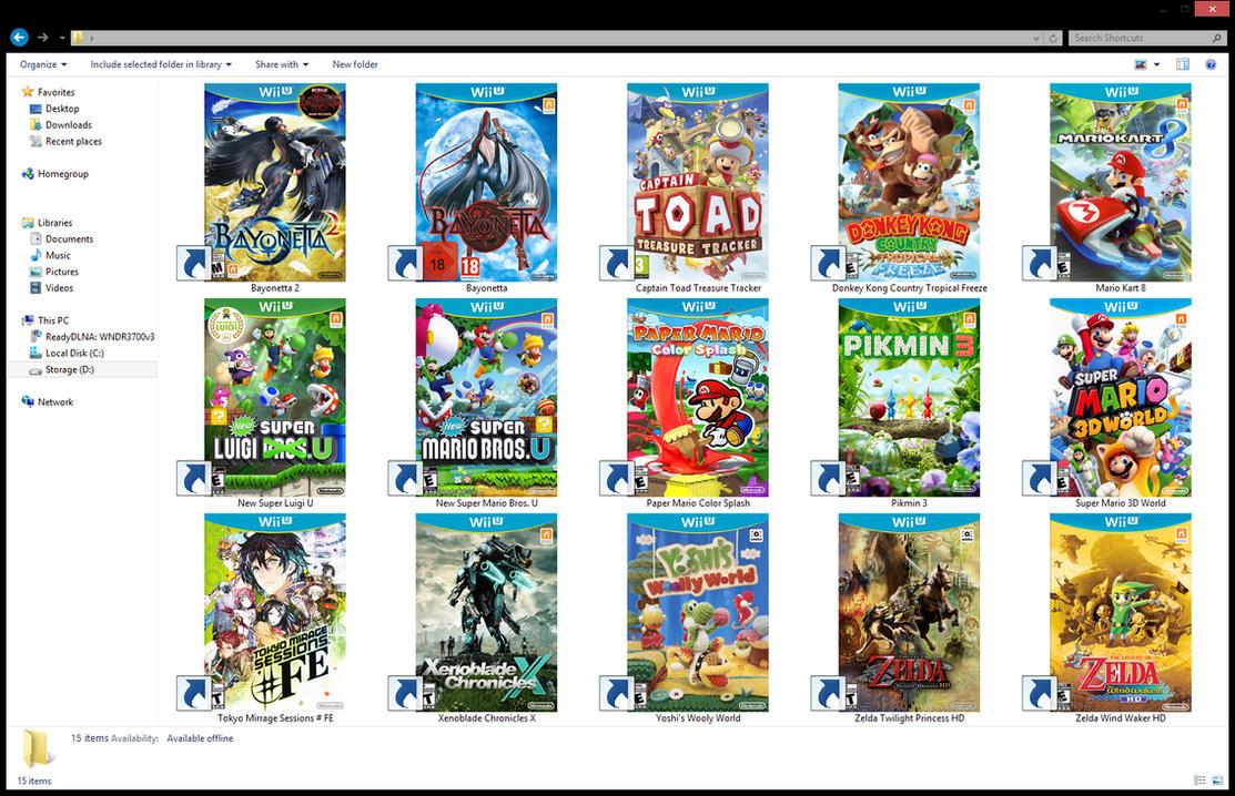 Wii u games